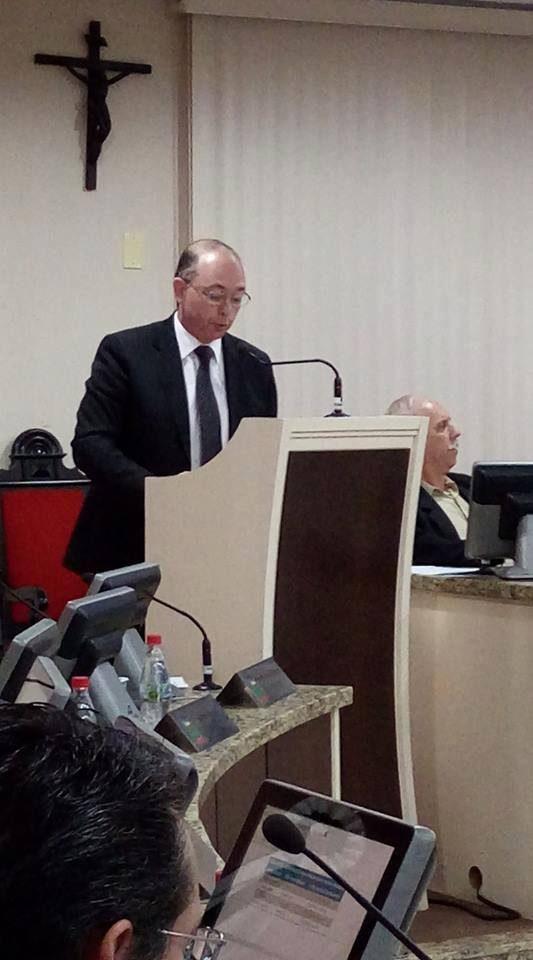 """""""E o que é o oceano, se não uma infinidade de gotas…?""""  Confira a íntegra do último discurso do vereador Adalberto Araújo na CM."""